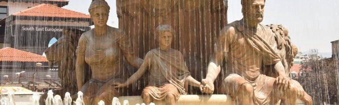 posągi w Skopje (Macedonia Północna)